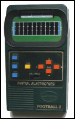 Hand-Held Football Games