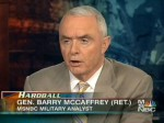 Picture of Gen. Barry McCaffrey